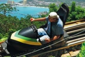 Dunn's River Falls, Sky Explorer, Bobsled Ride & River Tubing Excursions