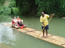 Bamboo Rafting | Excursions In Oho Rios