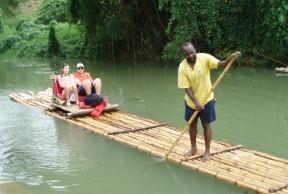 Dunn's River Falls & River Rafting Excursion