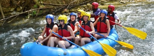 Blue Hole & White Water Rafting Excursion