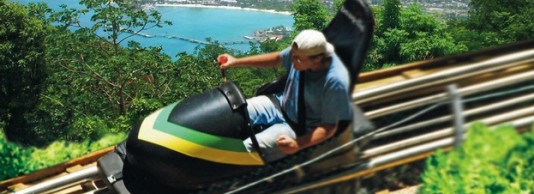 Dunn's River Falls, Sky Explorer, Bobsled Ride & River Tubing Excursions