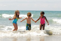 Children playing at the beach | Excursions In Oho Rios